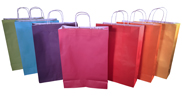 Coloured Paper Bags