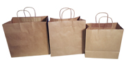 Brown Paper Takeaway Bags