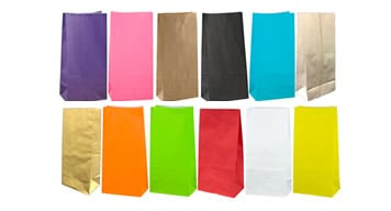Coloured Gift Bags - No Handles