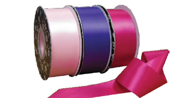 Double Sided Satin Ribbon 25mm