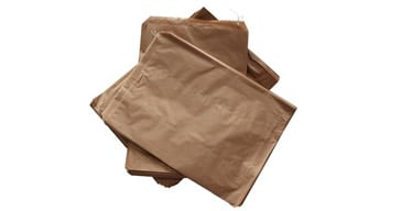 Flat Brown Paper Bags - no handles