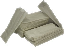 Flat White Paper Bags - no handles