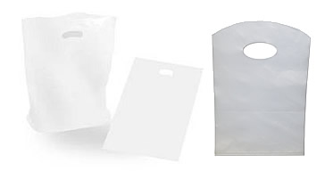 White Plastic Carry Bags