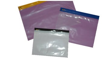 Plastic Zipper Bags with & without handles