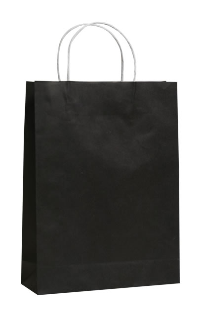 Black Paper Bags - stylish retail packaging | QIS Packaging