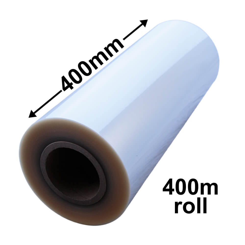BOPP CELLOPHANE ROLLS 400mm x 400m
