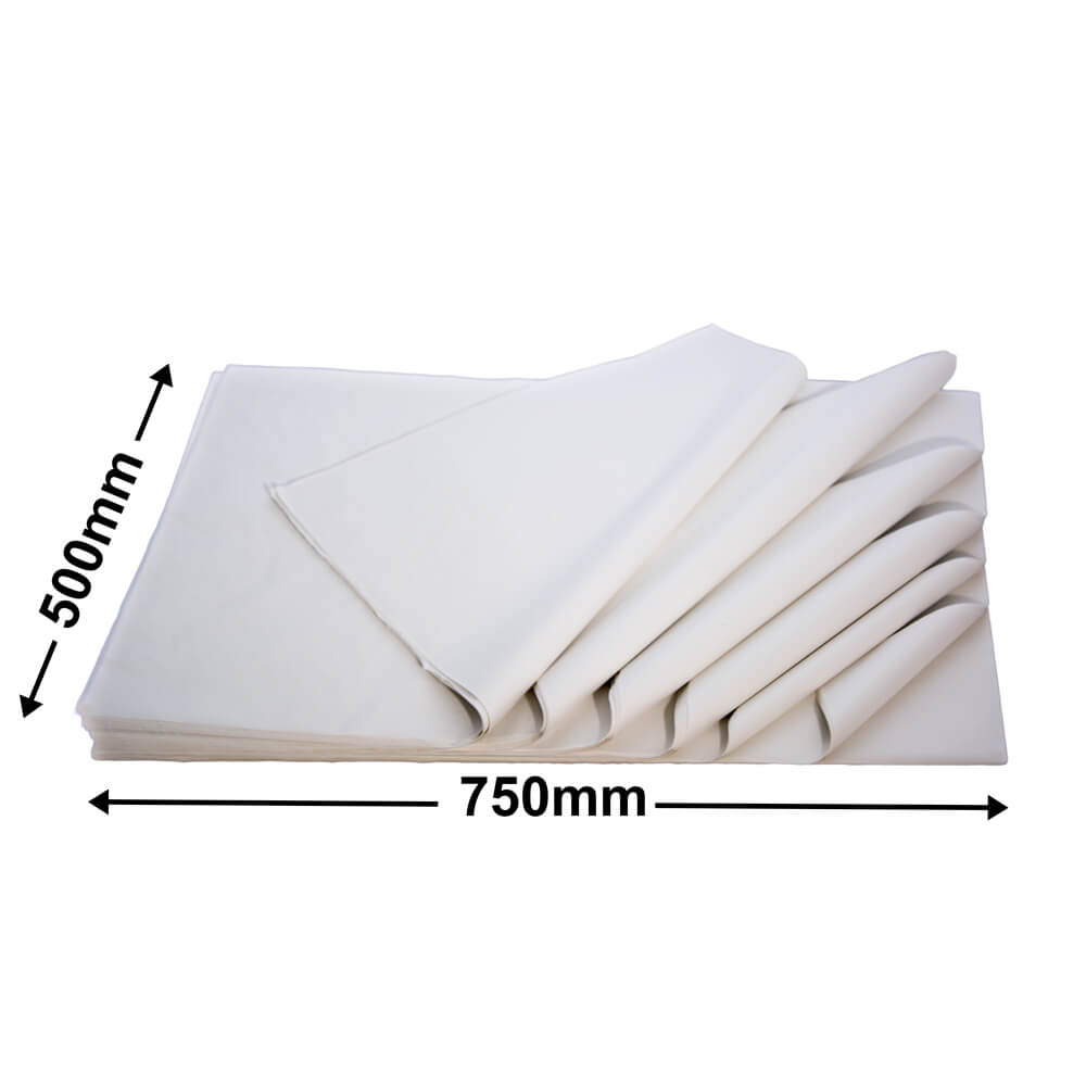 Acid Free Tissue Paper<br>White - (Ream 480)**NOT AVAILABLE UNTIL EARLY NOVEMBER**