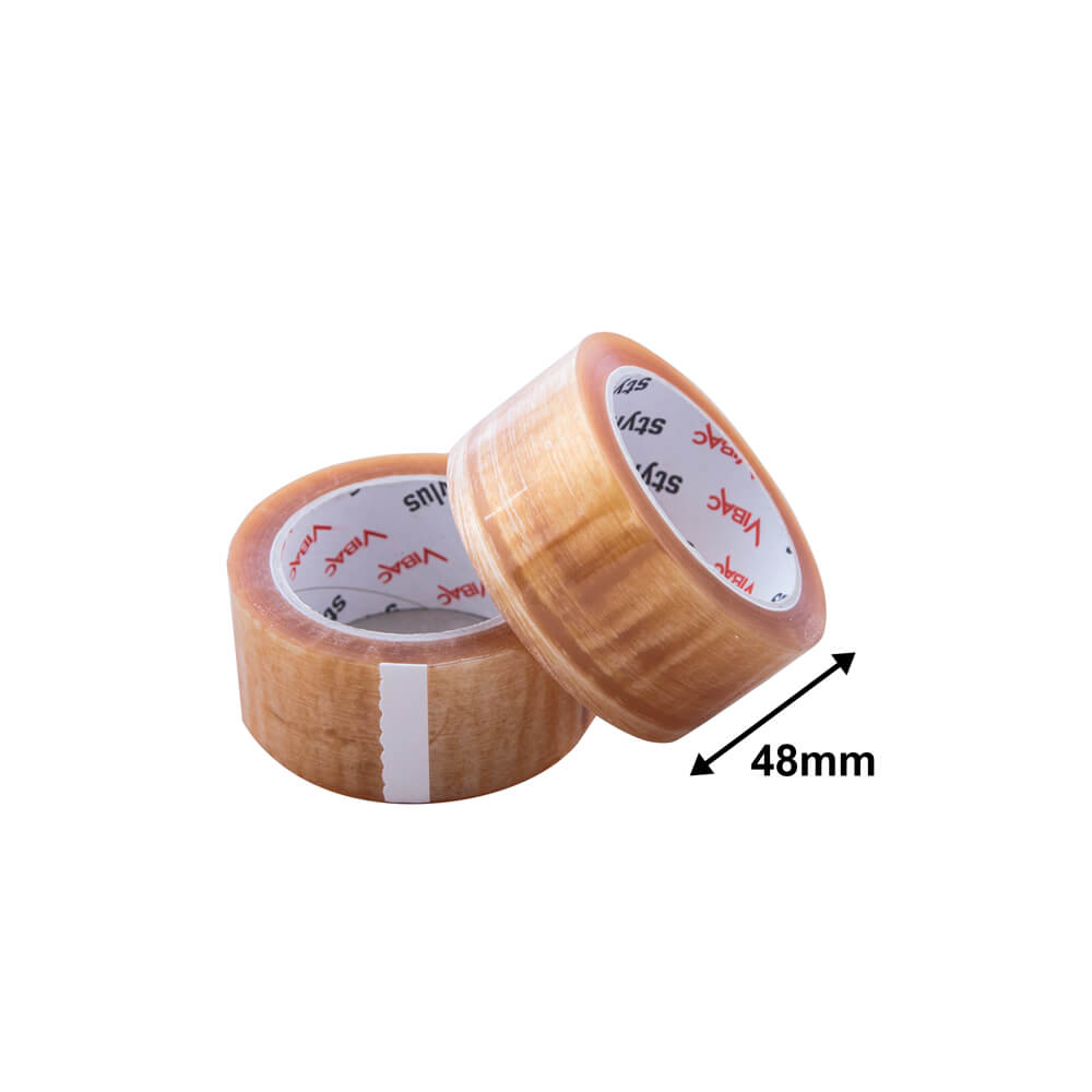Packaging Tape Rubber<br>48mm Clear Superior