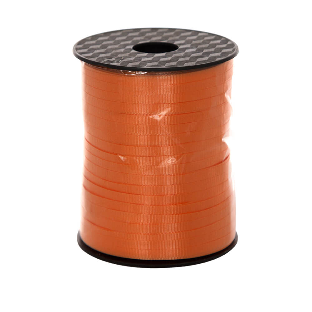 Curling Ribbon Orange<br>5mm wide x 457m per roll