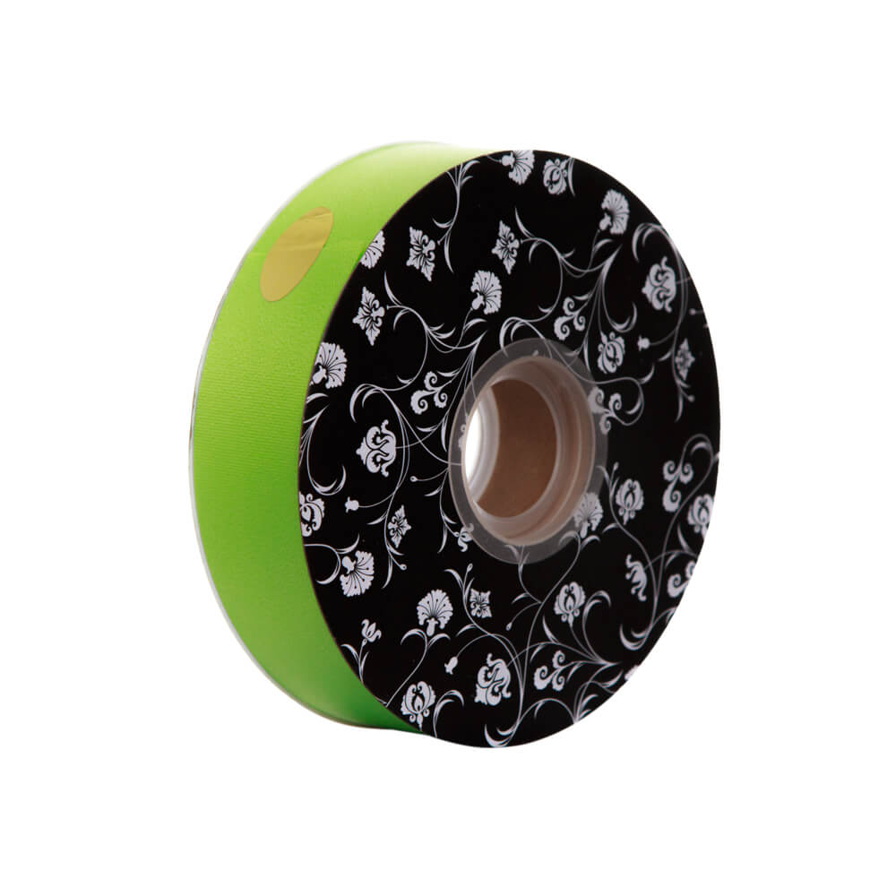 Florist Tear Ribbon<br>Lime<br>30mm wide x 90m per roll