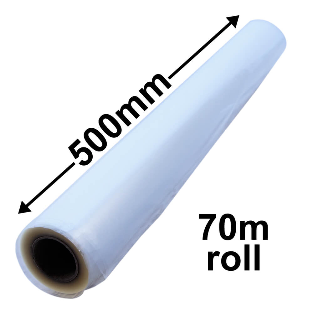BOPP CELLOPHANE ROLLS 500mm x 70m