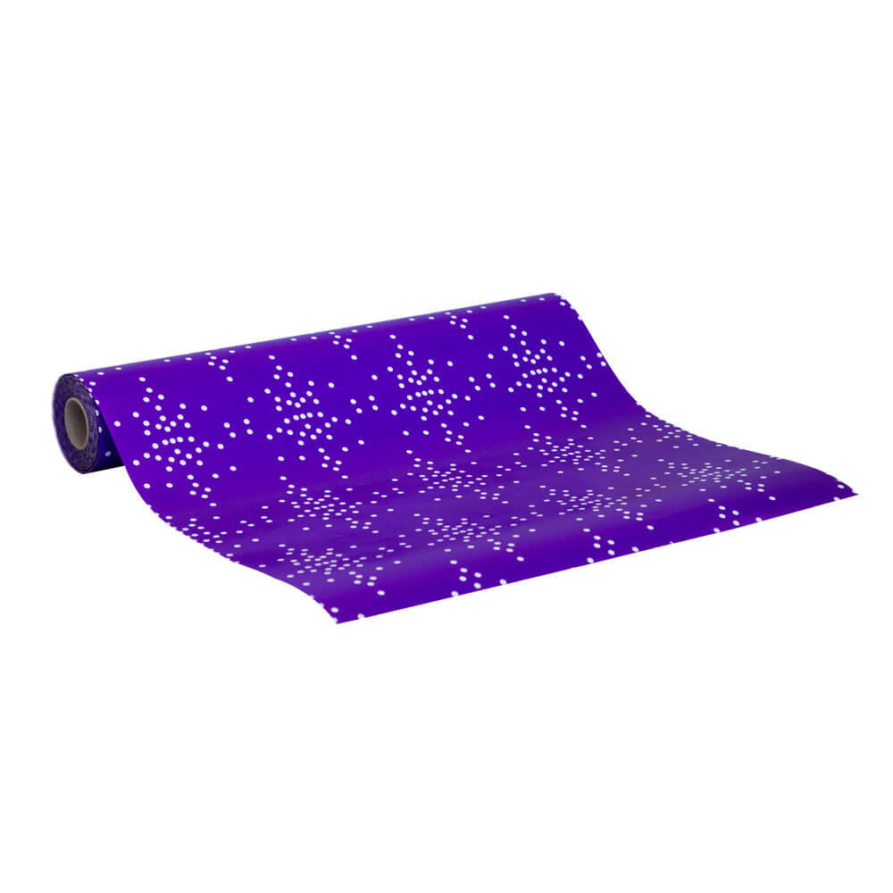 Wrapping Paper Speckle Purple - 60m