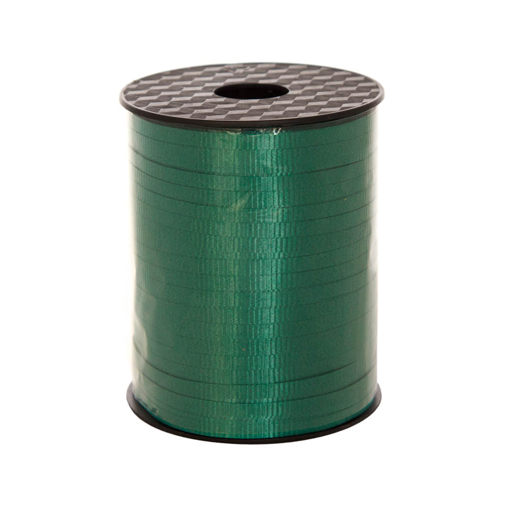 Curling Ribbon Hunter Green<br>5mm wide x 457m per roll