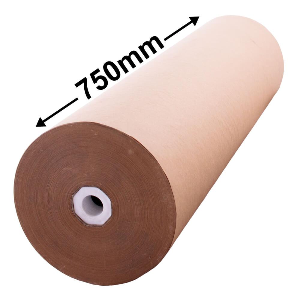 Brown kraft paper roll 750mm wide buy online qis for Brown craft paper rolls