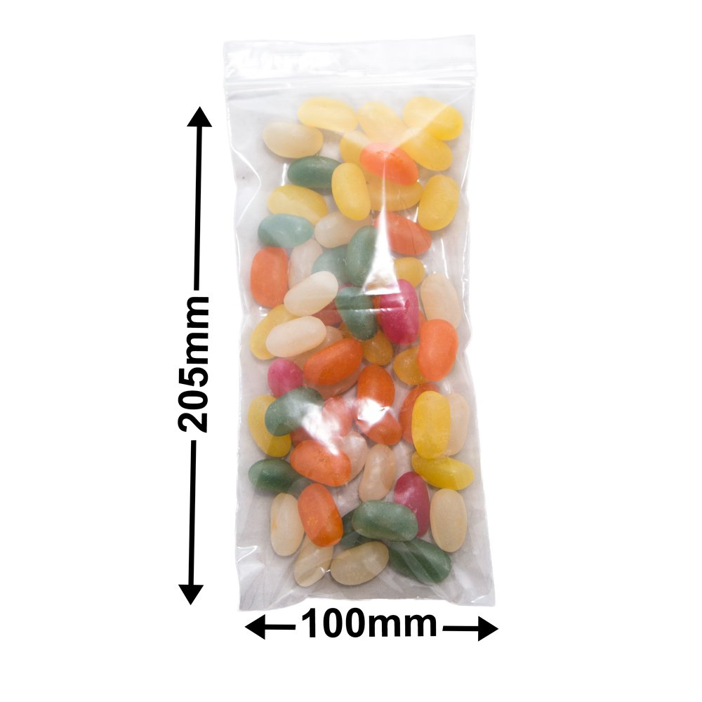 Resealable Press Seal Bags<br>200 x 100mm (8 x 4