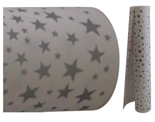 Silver Star Paper<br>Bulk 60m wrapping roll