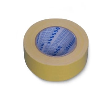 Cloth Tape Yellow 24mm<BR>*WHILE STOCKS LAST*