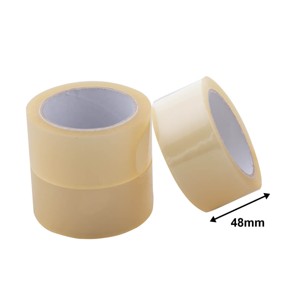 Packaging Tape Acrylic<br>48mm Clear Economy
