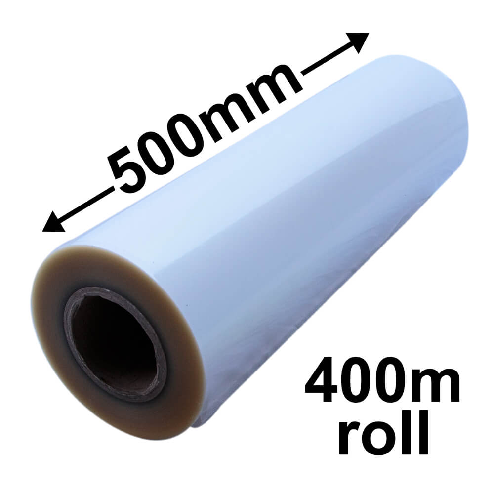 BOPP CELLOPHANE ROLLS 500mm x 400m