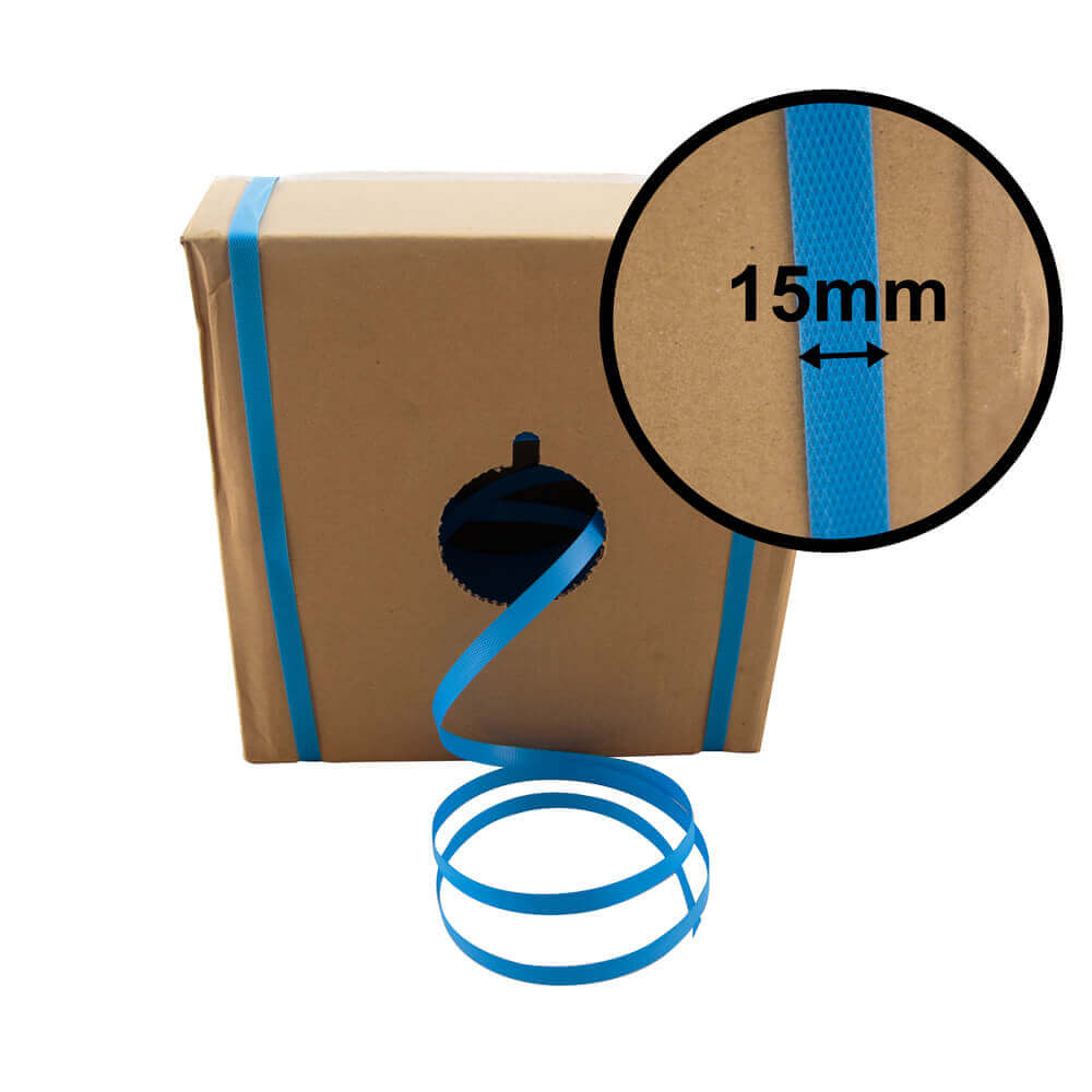 Plastic Strapping in Box<br>15mm