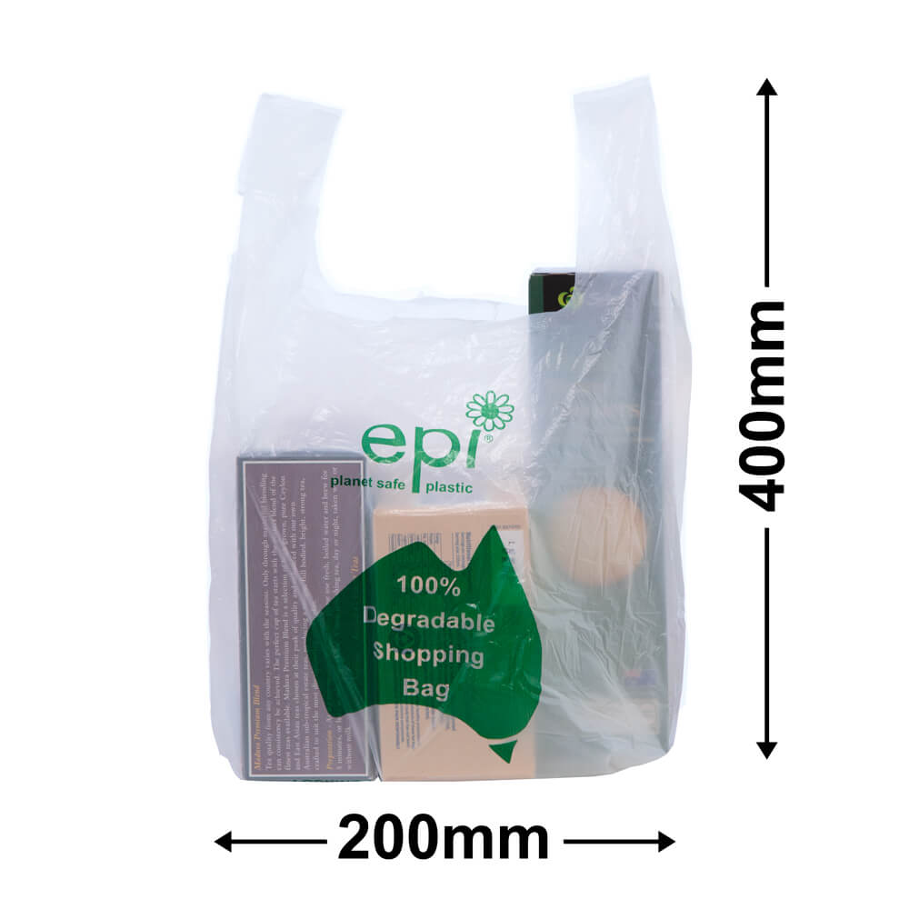 Singlet Bags Small EPI<br>environmentally friendly