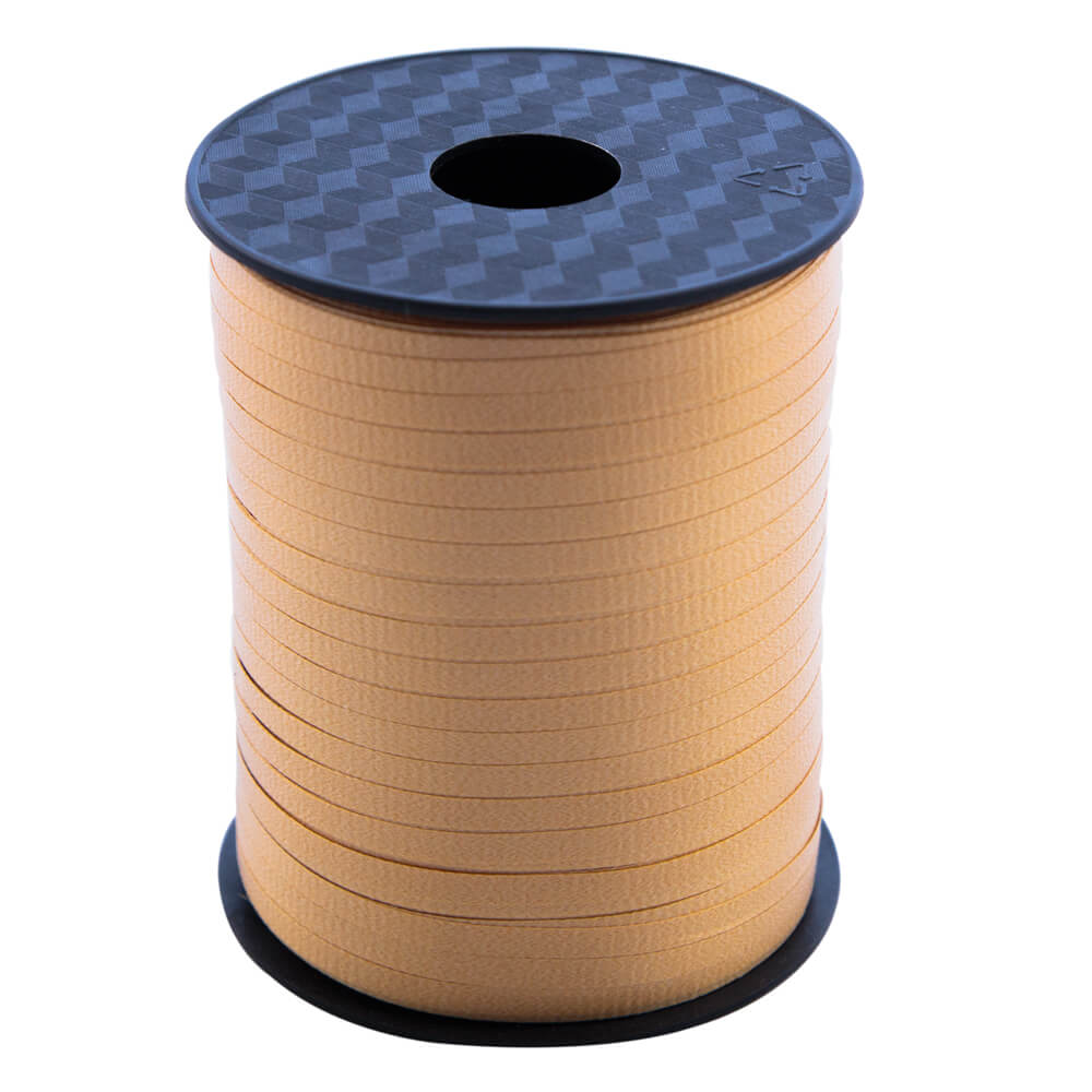 Curling Ribbon Gold<br>5mm wide x 457m per roll