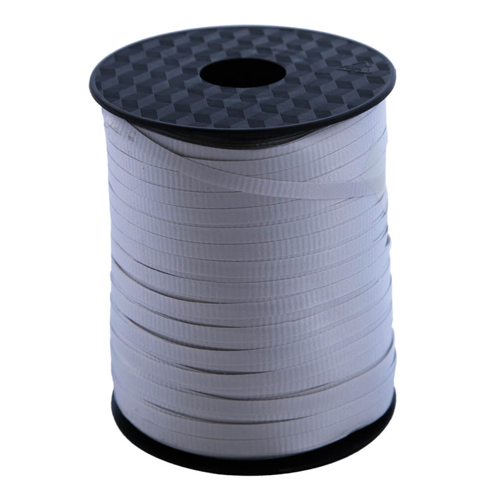 Curling Ribbon Silver<br>5mm wide x 457m per roll