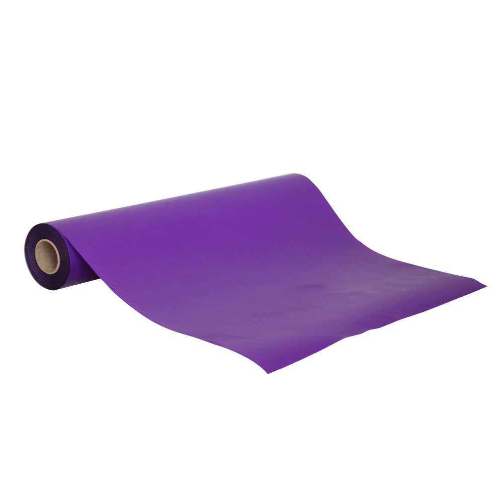 Purple Wrapping Paper<br>Bulk 50m roll