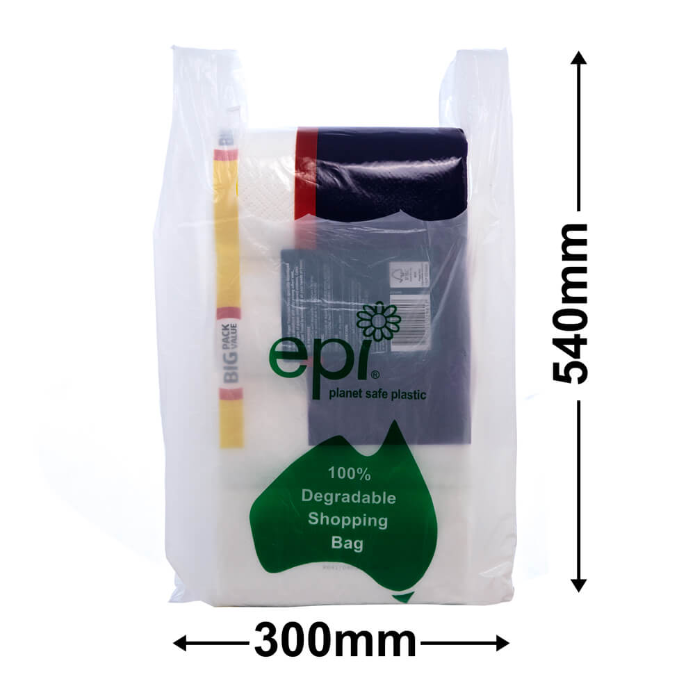 Singlet Bags Large EPI<br>environmentally friendly