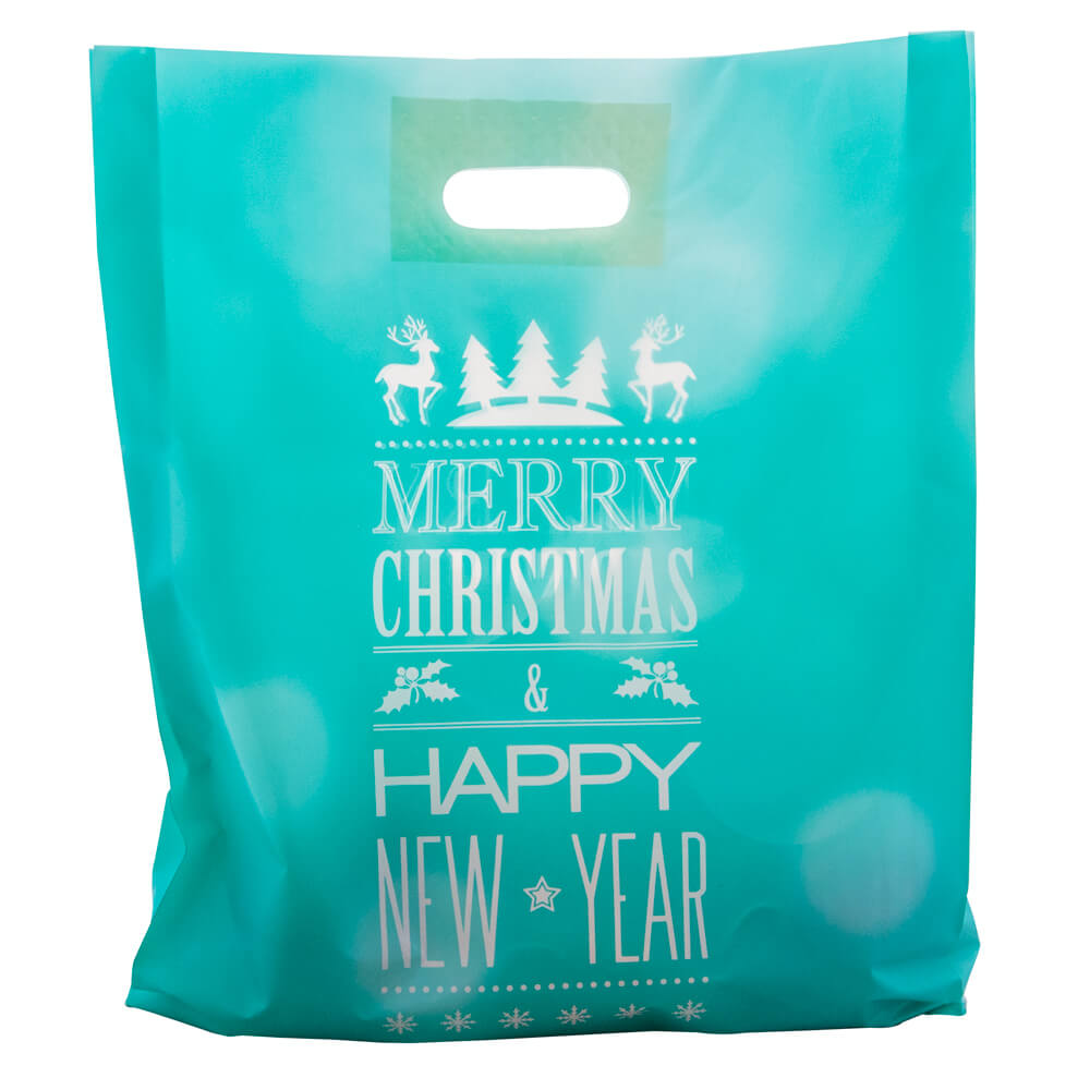 Christmas Plastic Bag<br>Merry Xmas
