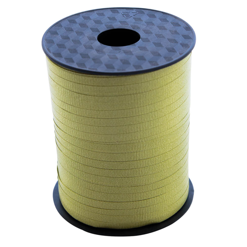 Curling Ribbon Olive<br>5mm wide x 457m per roll