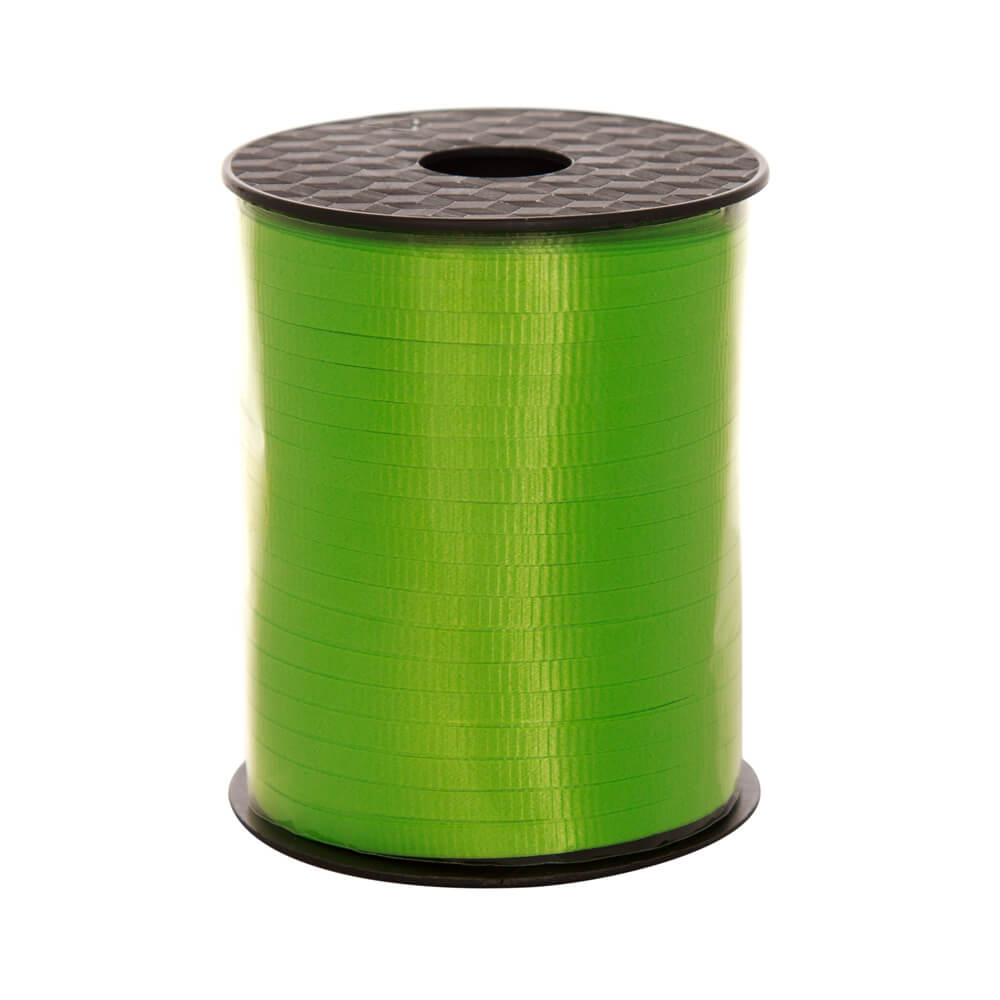Curling Ribbon Lime<br>5mm wide x 457m per roll