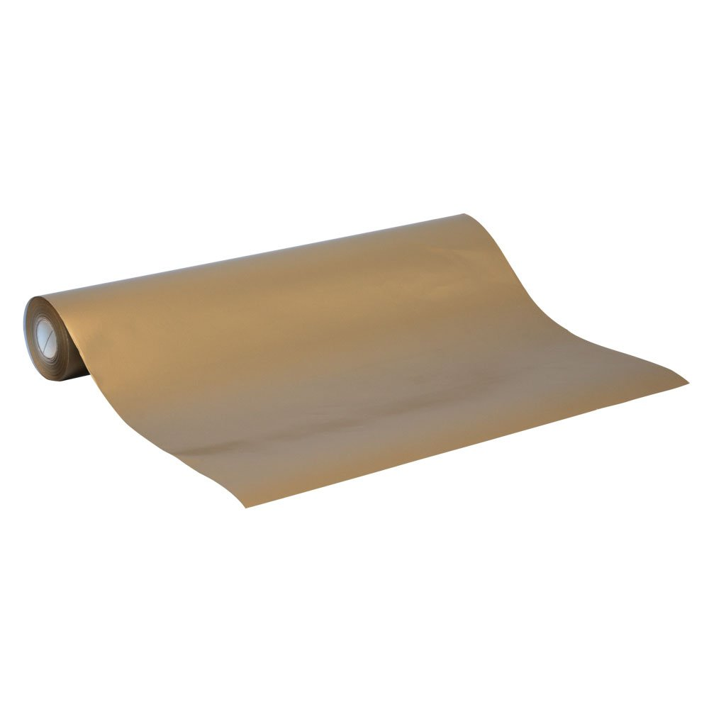 Gold Wrapping Paper<br>Bulk 50m roll