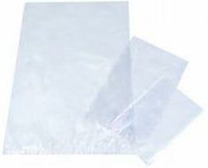 Polypropylene Bags Clear 100 X 290 + SIDE GUSSET 50MM